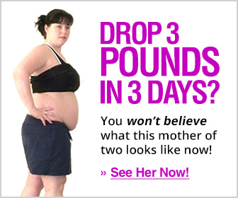Drop 3 pounds in 3 days